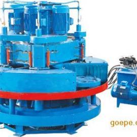 压力机和自动化磨石机的出现,促进了水磨石机械的新发展