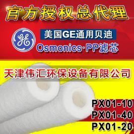 原装供应 美国GE通用贝迪滤芯PX05-20棉滤芯 PP棉滤芯 保安滤芯