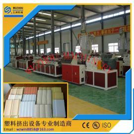 PVC微发泡型材生产线 木塑发泡型材生产线