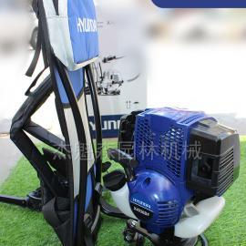 韩国现代X4036BF背负式割草机 四冲程背负式割草机