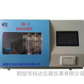 微机触控自动定硫仪,山东煤炭实验室专用分析仪器