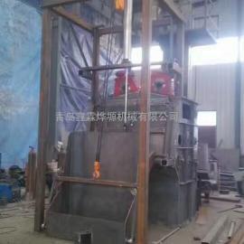 铸造水口抛丸机,高锰金属履带抛丸清理机