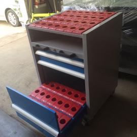 移动抽屉式工具车 BT50刀具搬运车 cnc加工中心刀具车