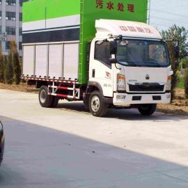 大锦鲤,JZ20-B,品质之选,移动式污泥脱水车