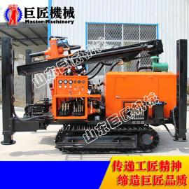 能打200米的履带式气动水井钻机FY200 山东巨匠供应中