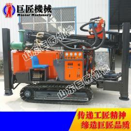 打井速度快 效率高 就选FY260履带式气动水井钻机