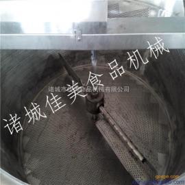 供应全自动电加热油炸锅,浙江豆泡油炸单机价格,自动过滤残渣
