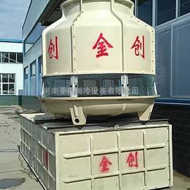 河南金创JCT系列逆流式玻璃钢圆塔及玻璃钢水箱优质生产厂家