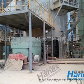 水泥厂空压机噪声治理