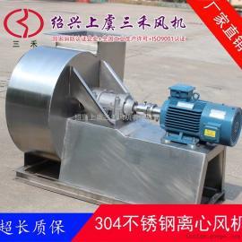 三禾喷淋系统配套 4-72型不锈钢离心风机 联轴器传动