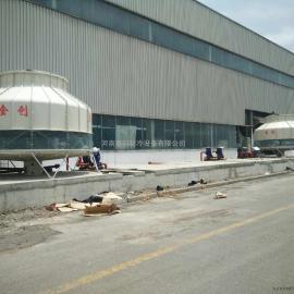 供应优质金创JCT系列逆流式玻璃钢圆型冷却塔厂家