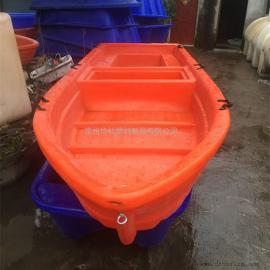 厂家直销4米双层塑料船河道清洁船旅游观光船打捞船