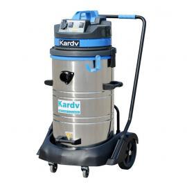 凯德威工业吸尘器DL-2078S,食品厂吸粉末用吸尘器