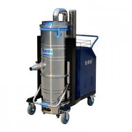 机床铁屑油污用工业吸尘器,凯德威DL-4010大功率工业吸尘器