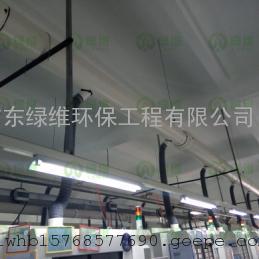 惠州环保公司 惠州废气处理 油雾收集治理工程 高效静电油雾净化