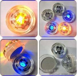 LED太阳能交通地埋灯道钉灯钢化玻璃地埋灯
