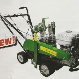 美神LYZ360AJ起草皮机 本田动力起草皮机 园林机械
