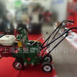 美神起草皮机LYZ360CJ 本田动力起草皮机 园林机械