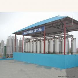 LNG瓶组站设备、LNG低温绝热气瓶 水浴式加热器