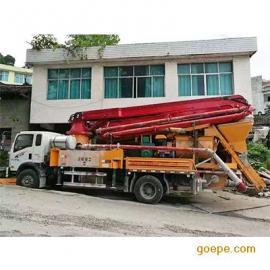 28米强制拖泵搅拌机价位