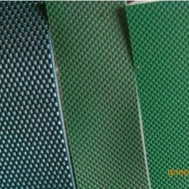 一面砖石纹一面胶皮带,两面胶pvc输送带,环形两面胶传送带