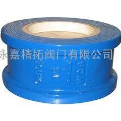 H72TC-10C 双瓣对夹陶瓷止回阀