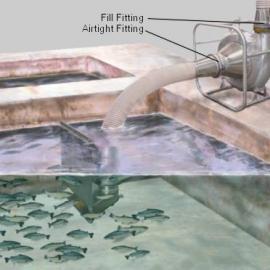 美国进口aqua-life1210-P吸鱼泵
