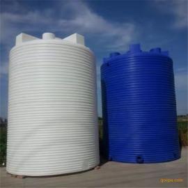 10吨PE塑料水箱 耐酸碱液体储存罐 屋顶储蓄10吨水塔