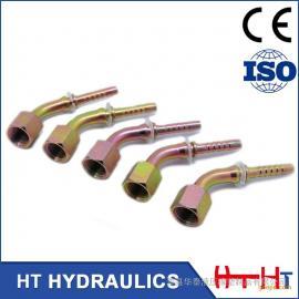 【伊顿】液压管接头生产厂家@扣压式液压胶管接头软管接头