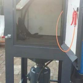 哈尔滨手动加压喷砂机