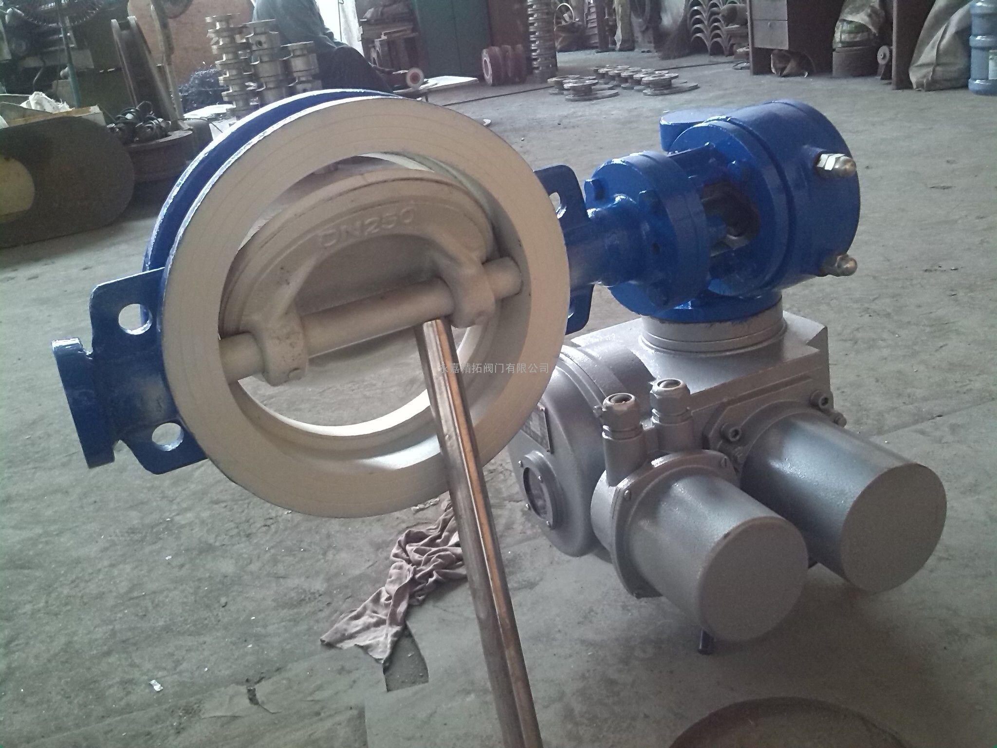 D673TC-10C气动陶瓷蝶阀