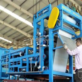 SH纺织印染污泥带式压滤机――专业厂家水衡环保