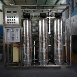 上海大河人家1T/H二级工业纯水设备;双级反渗透设备
