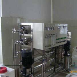 昆山2T/H二级反渗透设备;双级反渗透纯水设备;双级反渗透设备;