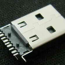 3.0 USB公头黑胶贴片/3.0 USB A公贴片