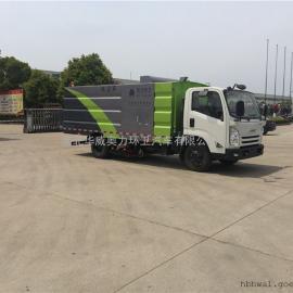 水泥厂专用吸尘车,5吨路面吸尘车
