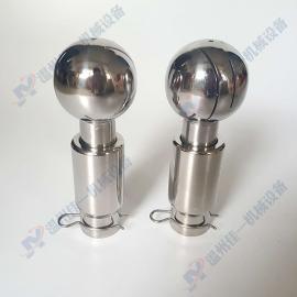 专业生产不锈钢插销式旋转清洗球 360度旋转插销式喷淋球