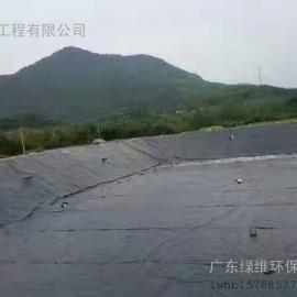 惠州废水处理 惠州环保公司之养殖场黑膜厌氧沼气池