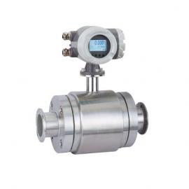 进口高精度快接式电磁流量计,卫生级管道流量计SED