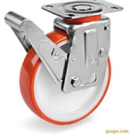 Tellure rota意大利原装进口脚轮,重载万向轮,减震工业脚轮