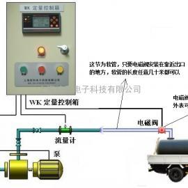 油罐车定量加水装置