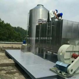 工业有害气体处理,活性炭吸附箱,绿深环境