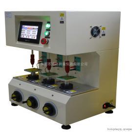 东莞鸿达专业生产三轴按键寿命试验机 开关按键寿命试验机