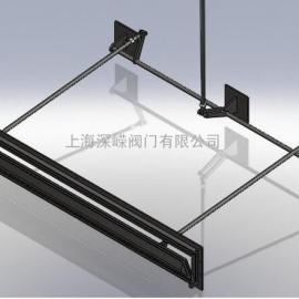 滤池(气动、不锈钢)翻板阀