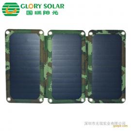 广东太阳能充电板厂家直销13W便携各折叠太阳能电池板