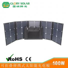 深圳太阳能板厂家sunpower太阳能电池板户外应急太阳能