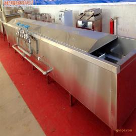 明超不锈钢蔬菜预煮机/漂烫机 新型全自动巴氏杀菌机价格