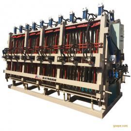 【MH5200】5米2A字型液压双面拼板机/拼方机 青岛龙丰木工机械&#6