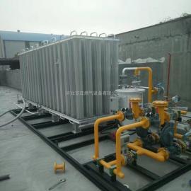 大型天然气气化站设备 LNG气化器 天然气气化调压一体撬设备