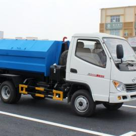 东风国五对接式垃圾车